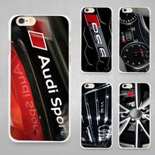 Buy Audi RS4 RS6 RS7 RS8 Hard White Cell Phone Case Cover Apple iPhone 4 4s 5 SE 5s 6 6s 7 Plus for $1.49 in AliExpress store