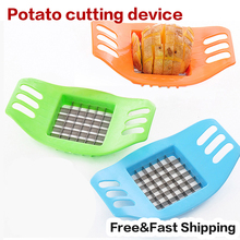 Stainless Steel French Fry Fries Cutter Peeler Potato Chip Vegetable Slicer Cooking Tools Cutting Fries Kitchen Accessories
