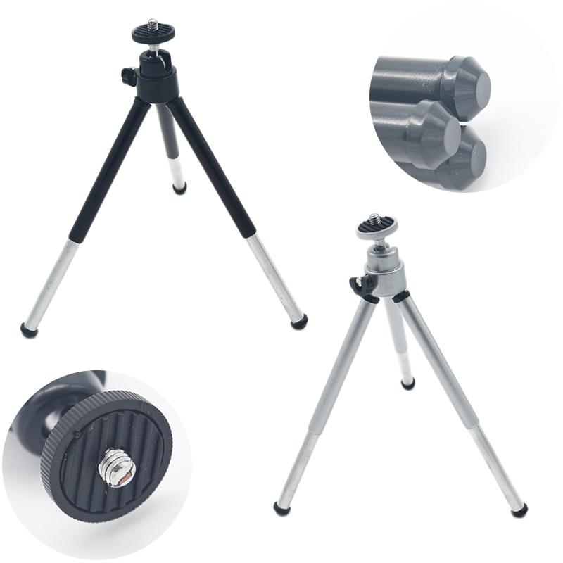 1PCS universal flexible Mini Tripod stand holder mount Aluminum Metal Lightweight Tripod For Digital Camera Webcam Phone DV(China (Mainland))