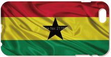2016 Painting Ghana Flag Cover For iphone 5 5S SE 5C 6 6S Plus Touch 5 6 For Samsung Galaxy A3 A5 A7 J1 J2 J3 J5 J7 Phone Case