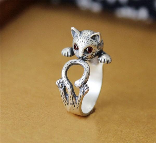 buy new fashion animal ring zinc hippie