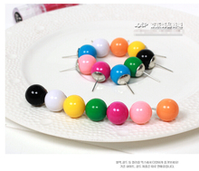 min $ 7 (mix order) 2015 hot fashion wild QQ candy colored ball earring DIY Stud Earrings Jewelry Wholesale Earrings For Women(China (Mainland))