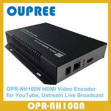 OPR-NH100N H.264 HD HDMI Encoder per IPTV, Streaming in diretta Broadcast, funziona con wowza, xtream codici, youtube video encoder.(China (Mainland))