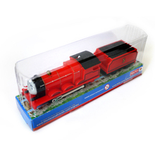 T0213b Electric Thomas and friend James with a carriage Trackmaster engine Motorized train With original packaging Packaged (China (Mainland))