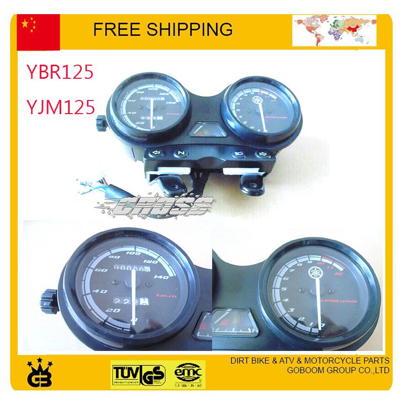 EURO II MD instrument 125cc Motorcycle Speedo Meter Gauge Instrument ybr YBR125 YJM125 Hornet odometer speedometer free shipping<br><br>Aliexpress