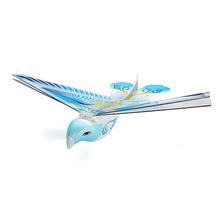 2.4G 2CH Redio Control Flying Bird E Bird Toy Hobbies Rc Bird E-BIRD Micro Flapping Wing Indoor Fly Birds RC Airplane RTF(China (Mainland))
