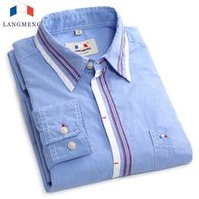 2014 free shipping men cotton shirt  autumn long sleeve casual shirt men brand quality formal dress shirts stylish men clothes