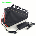 US EU No Tax hot selling eBike lithium 48V 12Ah rear rack battery pack with USB port 2A charger for 48V 750W Electric Bicycle