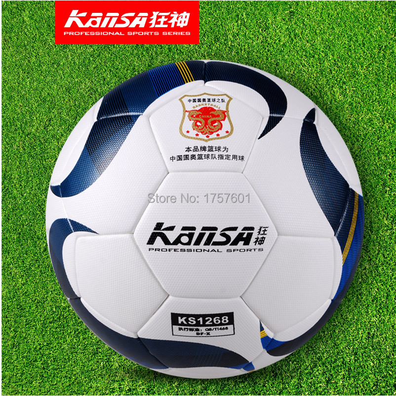 TOP quality Wear-resisting Seamless leather durability PU+EVA soccer ball size 5 Football for match wholesale and retail!(China (Mainland))