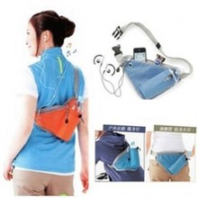 Hot selling multi function sports organizer bag,phone,MP3 water bottle waist pack back bag(China (Mainland))