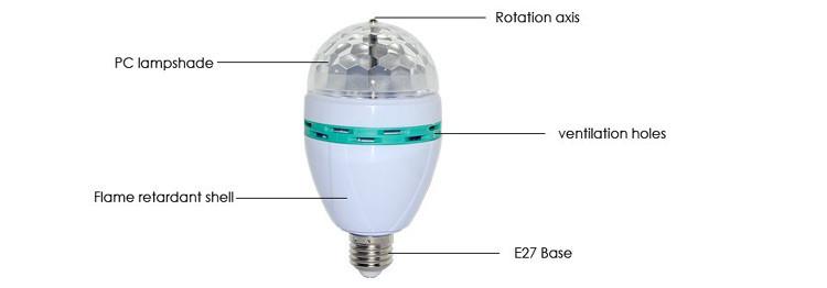 Auto rotating lamp E27 (2)