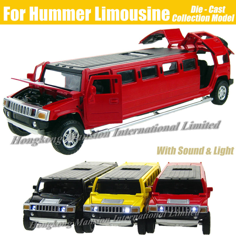 1 32 Scale Alloy Metal Diecast Car Model For Hummer