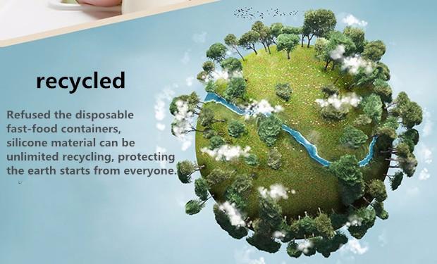 Rubihome 160 мл Сложенном Стакана Воды Бутылки Контейнеры Современный Экологически 5