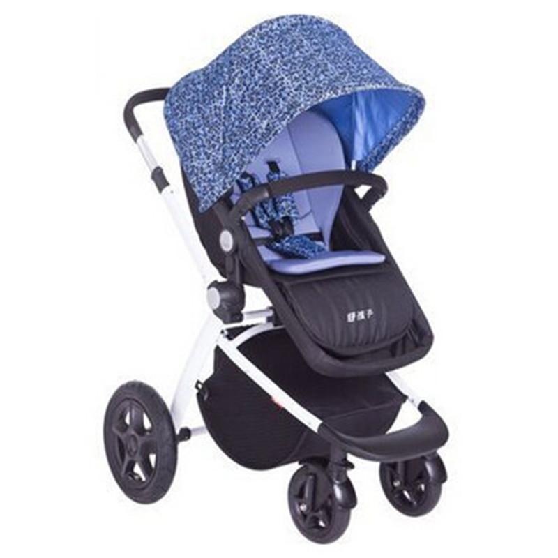 4 colour can choose  Baby stroller lightweight baby stroller baby child trolley baby carriage ultra-light portable folding<br>