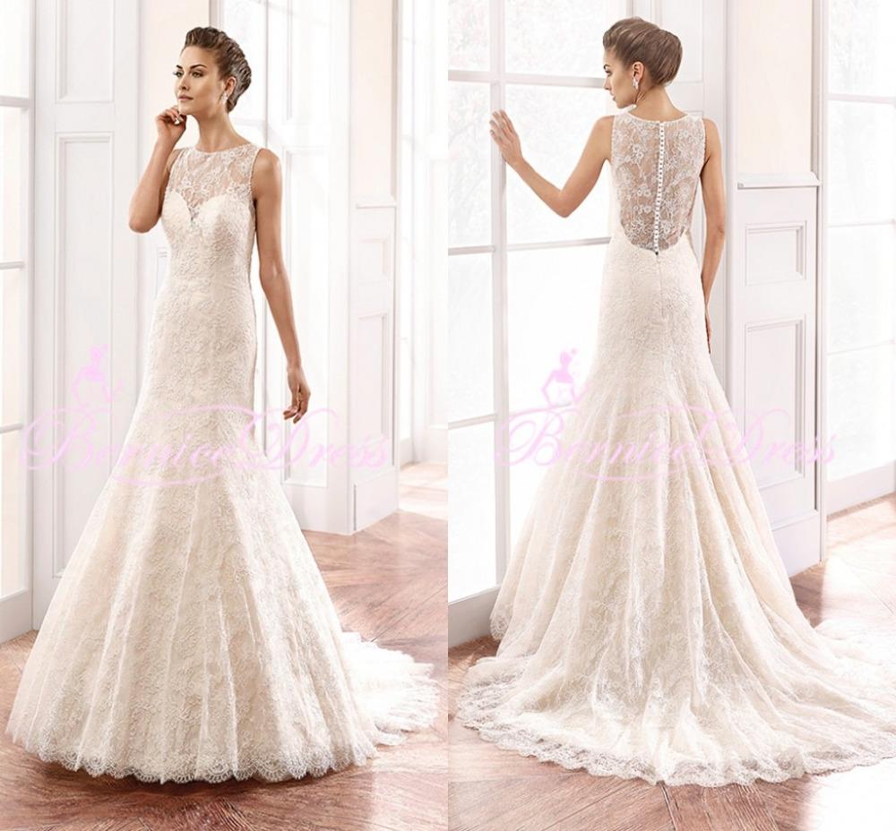 Open back lace wedding dresses car interior design Lace button back wedding dress