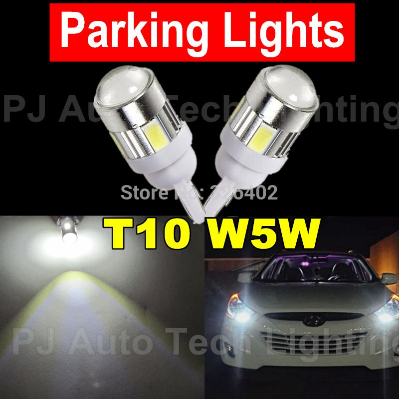 Гаджет  Free Shipping 2pcs Extreme Bright High Power Xenon White 168 194 2825 LED Lamp Bulbs Car Parking Lights Position Light None Автомобили и Мотоциклы