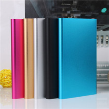 New Style Slim Power Bank 3000mAh USB External Backup Battery Charger PowerBank for all phone free shipping