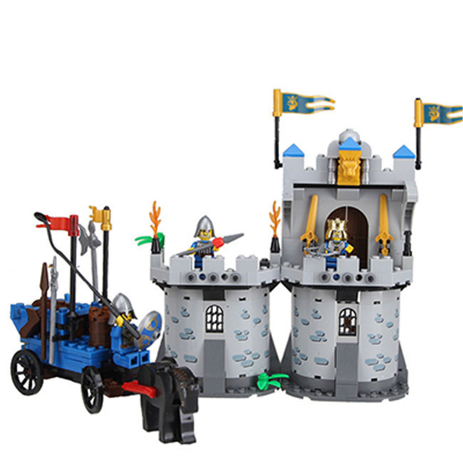 Enlighten Castle Series Building Blocks Medieval Castle Knight Pagoda Carriage Model Minifigures Kids Toys Compatible With Legoe<br><br>Aliexpress
