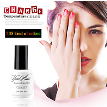 Candy Lover Mood Temperature Thermal Color Changing UV LED Soak Off Gel Nail Polish