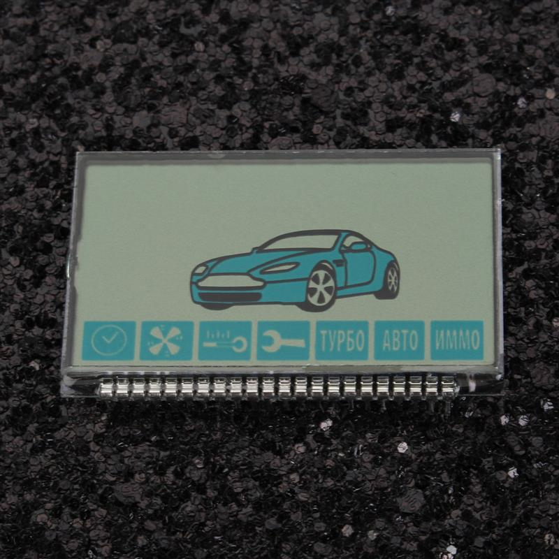 New A91 Lcd display for russian version starline A91 Lcd two Way Car Alarm System