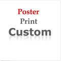 Buyer Custom Print fabric silk DIY frame poster print 12x12 12x18 16X24 20x30 24x24 24x32 24x36