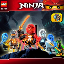Elemental phantom Ninjagoes building block Kai Jay Zane Cole Lloyd ninja minifigures weapons compatible withlego toys kids - ToysKingdom store