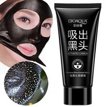 Bioaqua Face Skin Care Suction Nose Blackhead Remover Acne Treatment Masks Peeling Peel off Black Head Mud Facial Mask