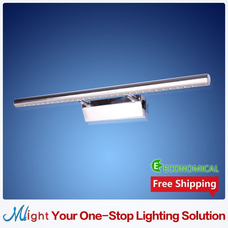 90-245V 5W LED Mirror Front Light 5050SMD Stainless Steel Bathroom Led Wall Lamps(China (Mainland))