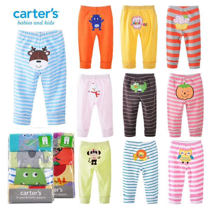PP pants baby trousers kid wear 4 pieces a lot busha pants 2015 hot model for Autumn/Spring drop shipping baby cotton pant(China (Mainland))