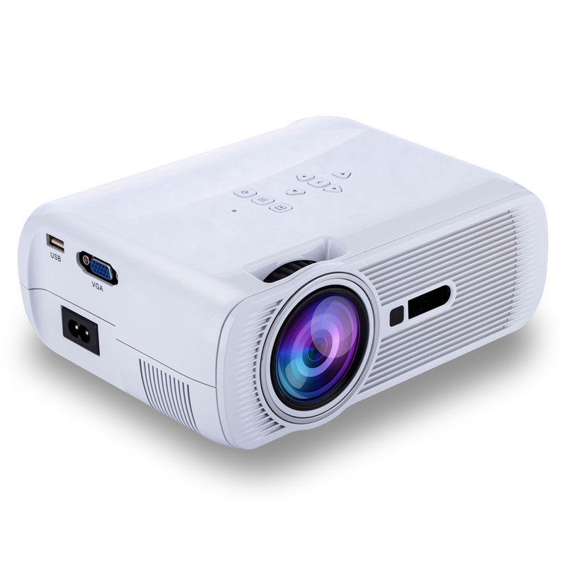 Brand new high quality portable 800x480 1080p hd home for Small lcd projector reviews