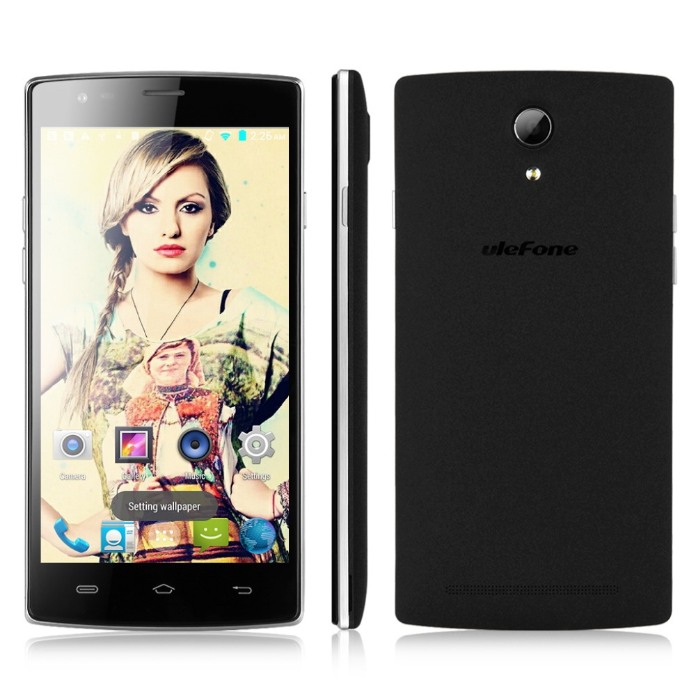 "Original 5.5"" Ulefone Be Pro HD Smartphone Android 4.4 MT6732 Quad Core"