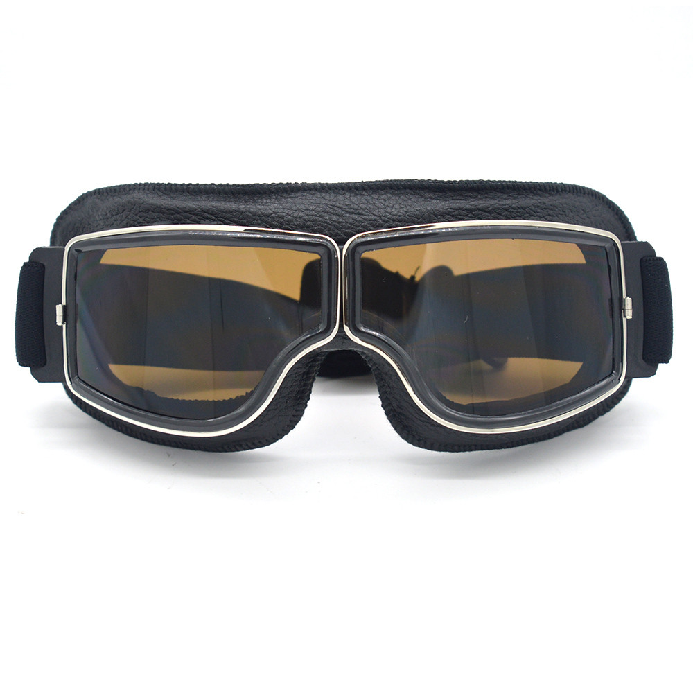 NEW Harley Style Motorcycle Goggles Pilot Motorbike ...