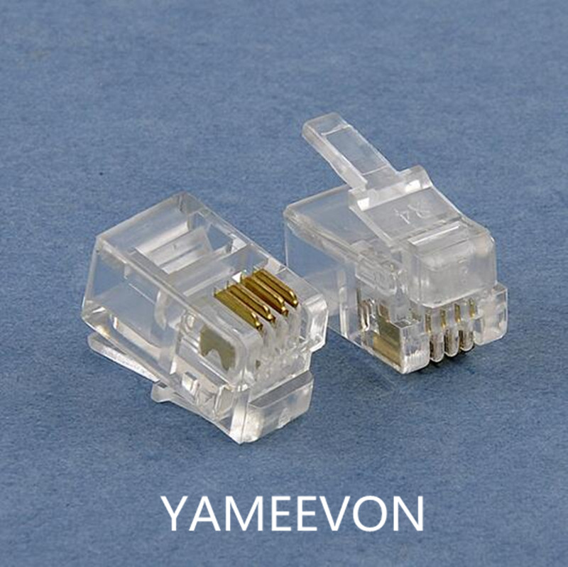 popular rj11 connector cables buy cheap rj11 connector cables lots from china rj11 connector