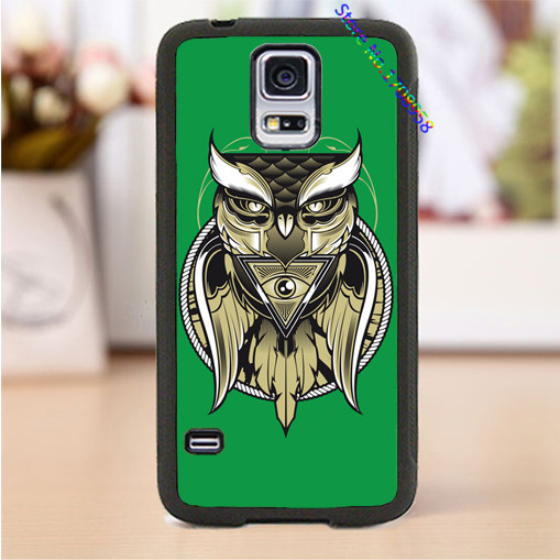 Owl Eye of the Beholder cell phone cover case for Samsung Galaxy S3 S4 S5 S6 S7 Note 2 Note 3 Note 4 &M#2580(China (Mainland))