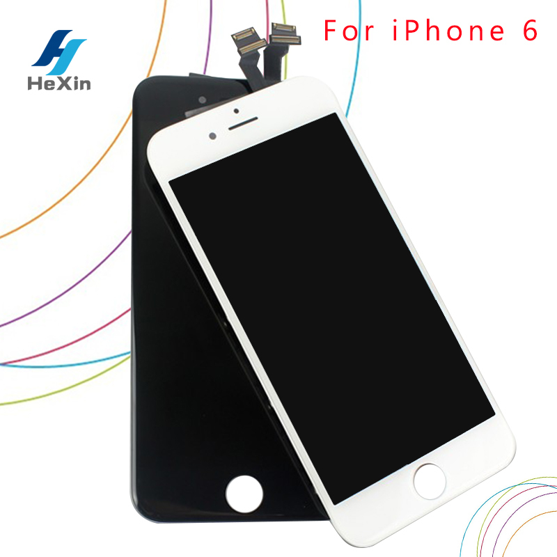 10 PCS/LOT Good Quality For Apple iPhone 6 LCD 4.7 inch Display With Touch Screen Digitizer Assembly Replacement Free DHL Ship