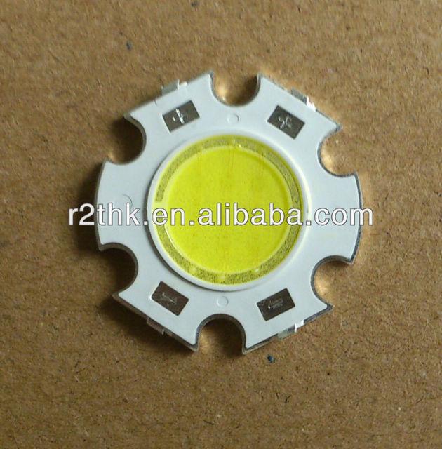 Superbrightness 1100lm LED heatsink Star Copper Base 45mil Bridgelux Epistar 10W LED Chip For Spotlight