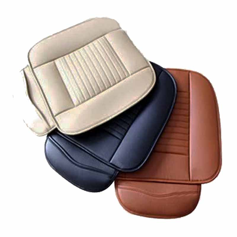 Buy universal pu leather car interior front seat cover for Mercedes benz car seat cushion
