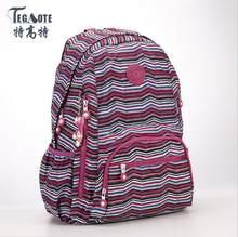 TEGAOTE 2019 latest Floral Backpack for Teenage Girl Feminine Backpack Casual Kipled Nylon Backpacks Women Bagpack Sac A Dos bag(China)