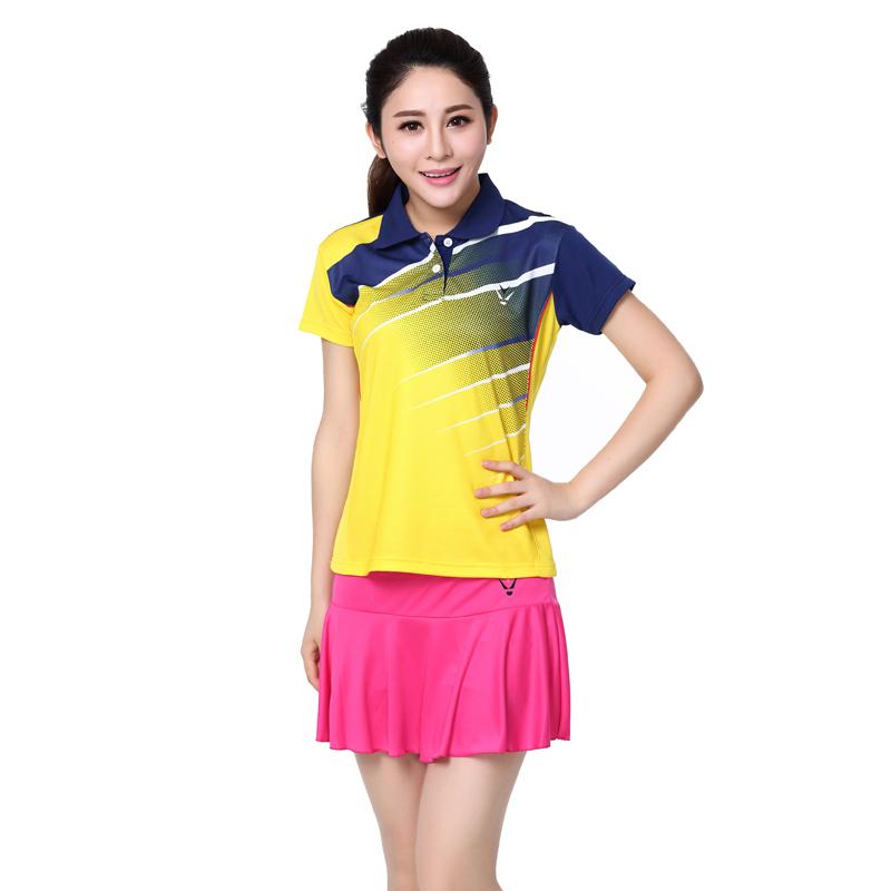 RACE WAYsummer style womenu0026#39;s tennis dress shirt / skirt badminton / tennis clothing / Tennis ...