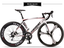 tb805/road bike 700c*14/16 speed/ bend the aluminum alloy / road racing / Disc brake disc / free shipping(China (Mainland))