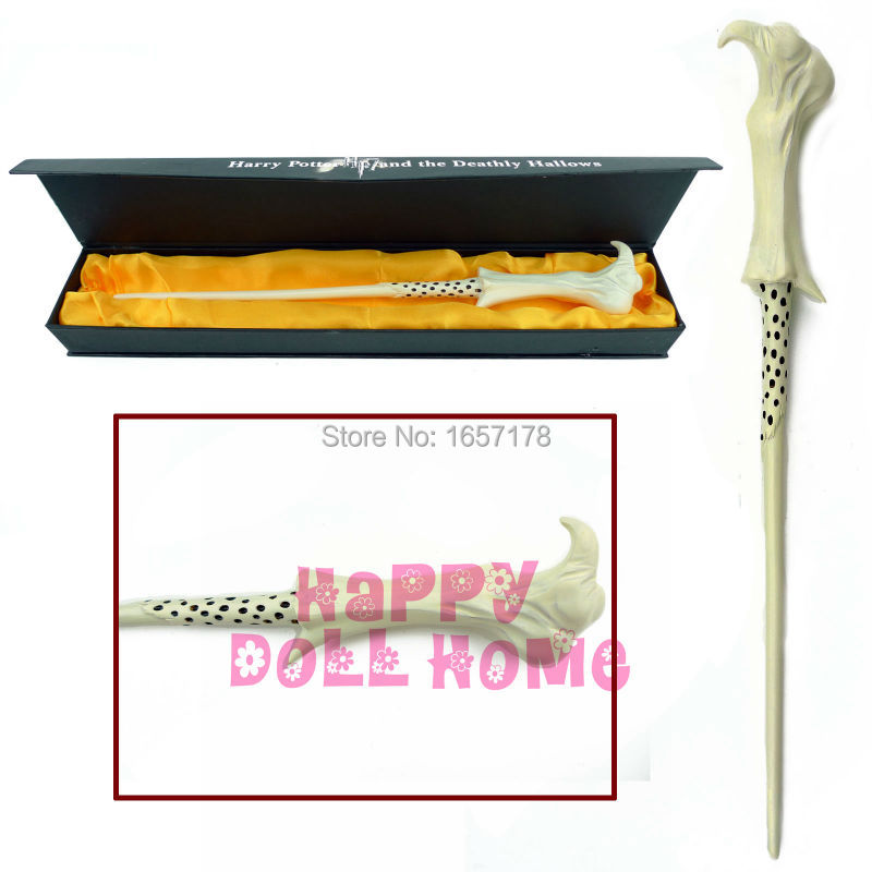 Free Shipping Lord Voldemort Magic Wand Harry Potter Collection Wizard Stick Hogwarts Gryffindor College COSPLAY Game Toys Gift(China (Mainland))