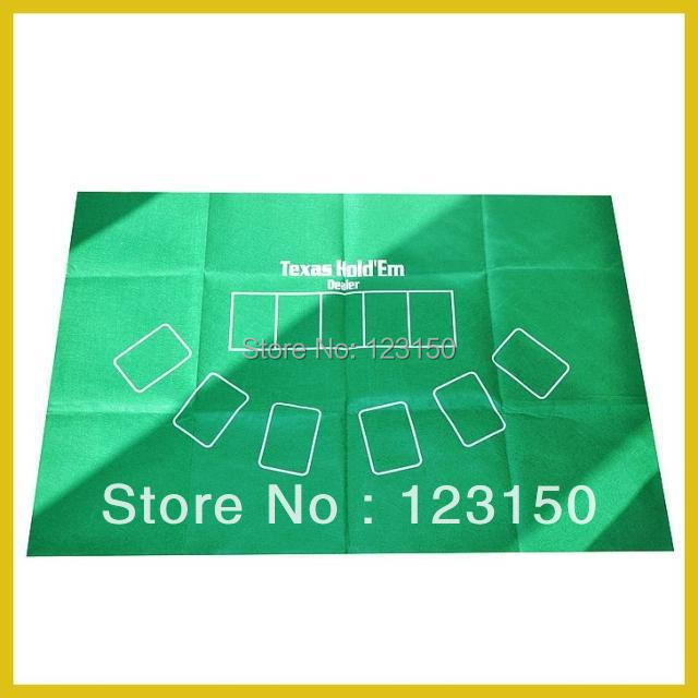ZB-004-2 Non-woven fabric Texas Holdem Table Cloth for Texas Holdem 60*90cm(China (Mainland))