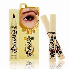 Liquid Eyebrow Mascara Milk Water waterproof halo Makeup Eyebrow Pencil(China (Mainland))