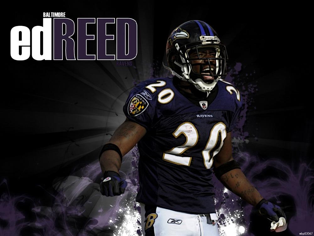 Ed Reed Baltimore Ravens Football Sport Art Huge Print Poster TXHOME D5513(China (Mainland))