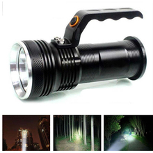 CREE XM-L 3000 Lumens Rechargeable Police Tactical 3 Modes Adjustable LED Flashlight Torch Portable Handheld Light Lamp Lantern(China (Mainland))