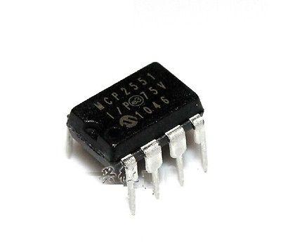 MCP2551 IC TRANSCEIVER CAN HI-SPD 8-DIP NEW(China (Mainland))