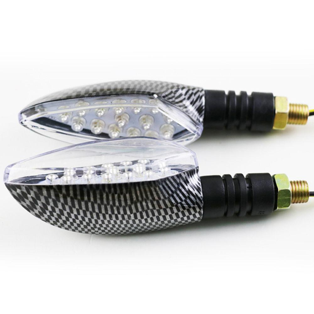 Snake skin 2x Universal 12V 1W 15 LED Motorcycle/Motorbike Turn Signal Indicators Blinker Amber Light Lamp Bulb for Honda Yamaha(China (Mainland))