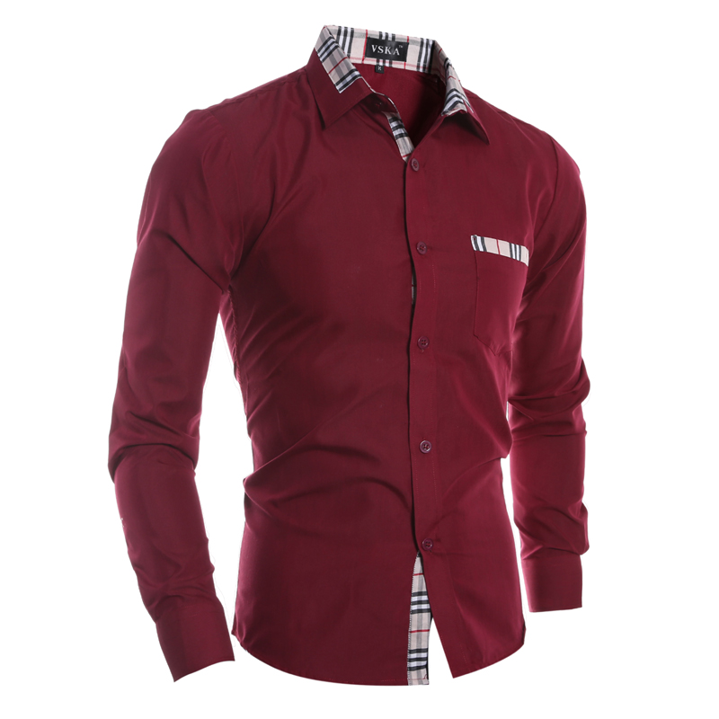 High Quality Mens Red Dress Shirt Promotion-Shop for High Quality ...