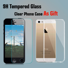 Premium Tempered Glass Screen Protector for Iphone 5 5C 5S Screen Protector Tempered Glass Protective Film For Iphone 5 5C 5S