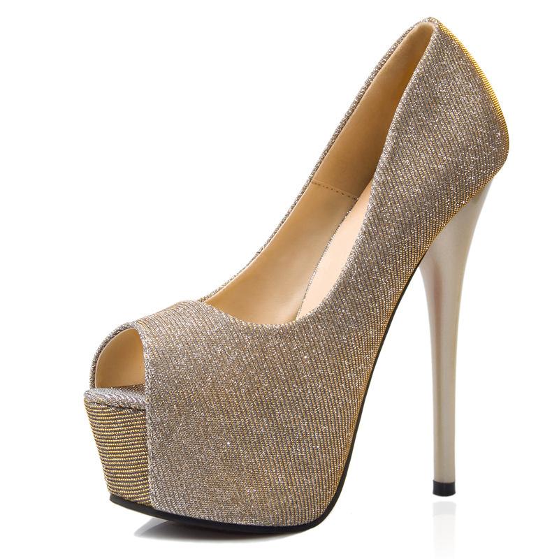 2015 prom heels wedding shoes high heels rhinestone